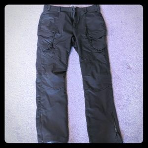Columbia green hiking pants xs/s